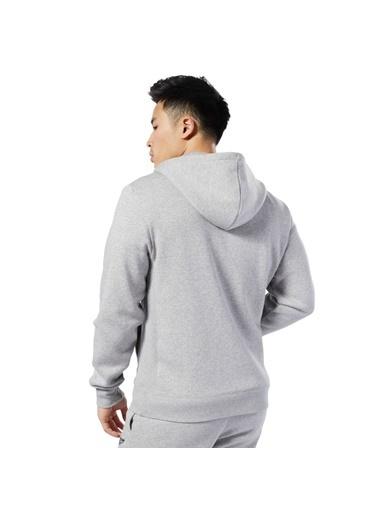 Reebok Cl F Flc Fz Erkek Sweatshirt Gri